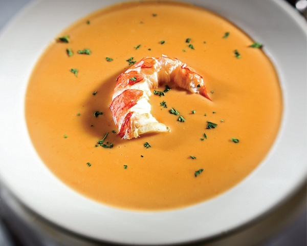 RECIPE: Lobster Bisque from Capisce - Traditions Spirits