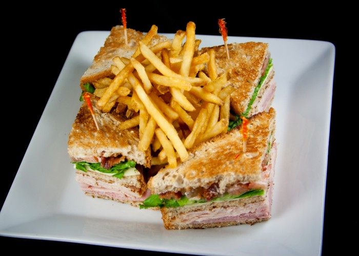 club sandwich classic club sandwich at house of blues new orleans