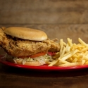 Country Fried Steak Sandwich